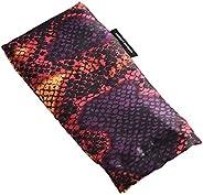 Hugger Mugger Silk Yoga Eye Bag (Flax) - Vibrant Viper