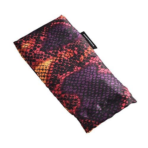 Hugger Mugger Silk Yoga Eyebag (Flax) - Vibrant Viper by Hugger Mugger