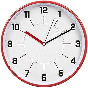 Amazon.com: hito Silent Wall Clock Non ticking 12 inch Excellent ...