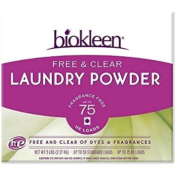 Amazon Com Biokleen Laundry Detergent Powder