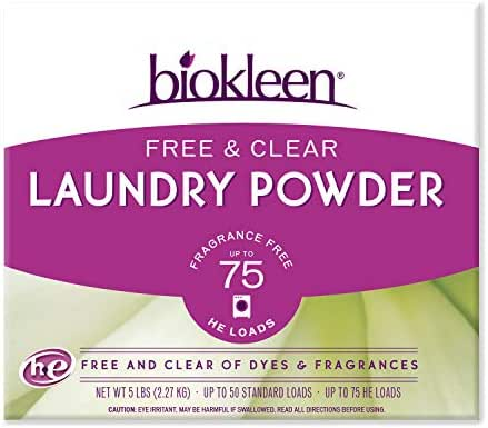 Laundry Detergent: Biokleen Free & Clear