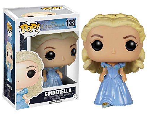 51BNIPjFesL Funko POP Disney: Cinderella (Live Action) - Cinderella Vinyl Figure,Multi-colored,3.75 inches