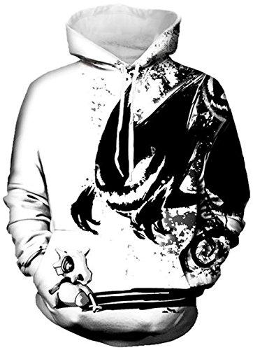 Galaxy Unisexe Capuche Sweater 3d Pull Imprimé Alien Sweat shirt Yuanyan Y6BgpY