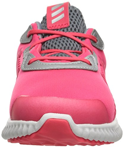 adidas Kids' Alphabounce Sneaker, Shock Red/White/Tech Grey Fabric, 6 M US Infant by adidas (Image #4)