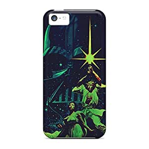 High Impact Dirt/shock Proof Case Cover For Iphone 5c (star Wars Alternative Poster)