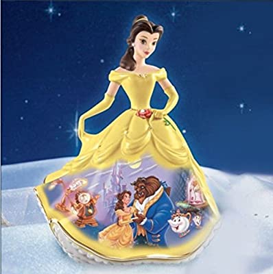 Disney Beauty & The Beast Forever Belle Bradford Exchange Bell Figurine