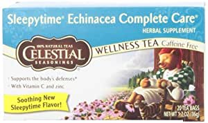 Celestial Seasonings Sleepytime Echinacea Complete Care Wellness Tea (3x20Bag)