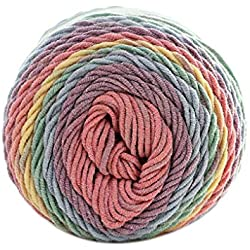 Rainbow Wool - 100g Ball Colorful 5 Ply Rainbow Cotton Yarn Handmade Diy Scarf Pillow Blanket Knitting Crochet Soft - Machine Blanket Beginners Knitting Kits
