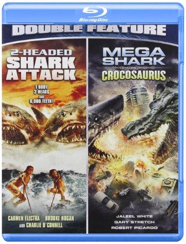 2 Headed Shark Attack/Mega Shark Vs. Crocosaurus [Blu-ray]