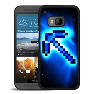 Newest HTC ONE M9 Case ,Minecraft 49 Black HTC ONE M9 Cover Case Fashionable And Popular Designed Case Good Quality Phone Case