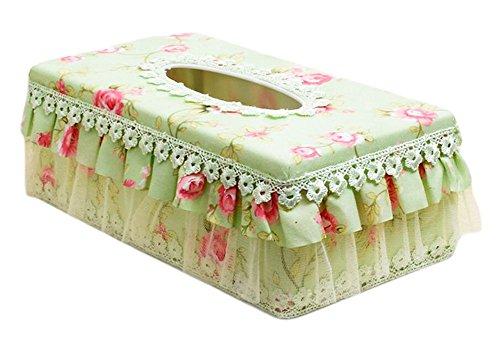 LARARHEE-Creative Rural Lace Tissue Box Fashion Large - Fashion Designers Wiki