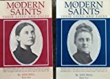 img - for Set of 2 Modern Saints Books: Their Lives and Faces by Ball, Ann (1983) Paperback book / textbook / text book