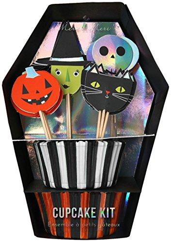 Meri Meri 45-2340 Halloween Cupcake Kit Novelty -