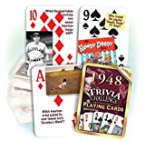 Best Playing Cards In The Worlds - 1948 Trivia Playing Cards: 69th Birthday or Anniversary Review