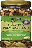 #1: Planters Premium Blend Mixed Nuts, Unsalted, 34.5 Ounce Jar