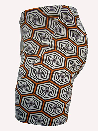 JAGGAD Men's 3D Padded Coolmax Gray Bicycle Cycling Underwear Shorts F0076-S by JAGGAD
