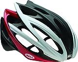 Bell Gage Bike Helmet – White/Black/Red Split Medium