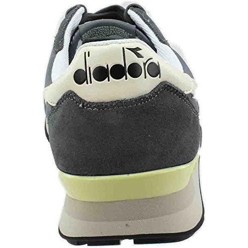 Diadora Camaro Sneaker Unisex In Acciaio Grigio / Bianco Bisbiglio
