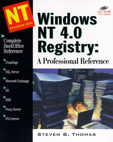 (Windows NT 4.0 Registry: A Professional Reference)