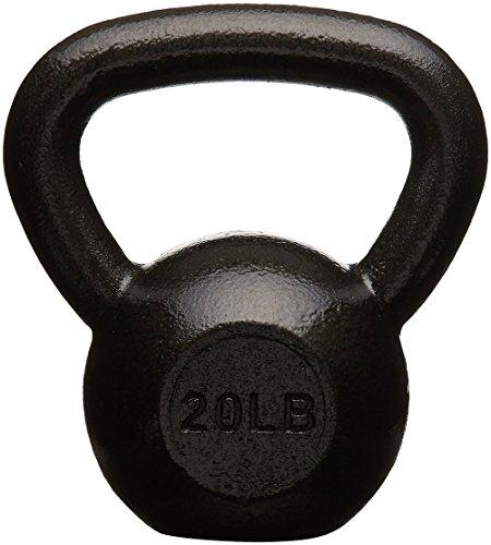 AmazonBasics Cast Iron Kettlebell, 20 lb by AmazonBasics (Image #3)