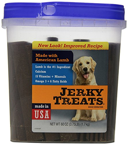 Cheap Jerky Treats Tender Strips Dog Snacks Lamb, 60 Oz(3.75 Lb)