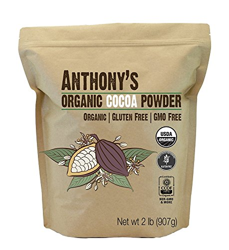 Anthony's Organic Raw Cocoa Powder/Cacao Powder, (Non-Alkalized) (2 ()