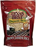 Texas Best Organics Organic Jasmine Brown Rice-32 Oz