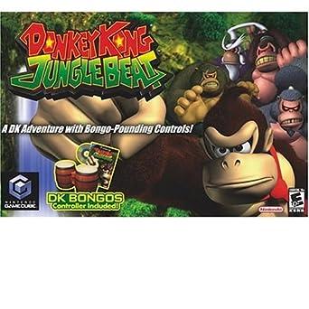 c18ef3fb6a1 Donkey Kong Jungle Beat - Includes Bongos (GameCube)  Amazon.co.uk  PC    Video Games