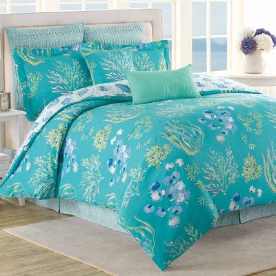 Beachcomber 8 Piece Comforter Set Size: Full / Queen