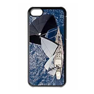 Beautiful Sailboat Rudders DIY Cover Case with Hard Shell Protection for iphone 4/4s iphone 4/4s Case lxa#402337