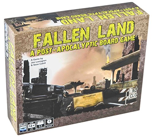 Fallen Land: A Post-Apocalyptic Board Game by Fallen Dominion Studios