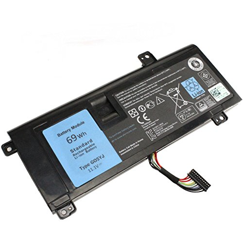 LNOCCIY New 11.1V 69WH G05YJ 8X70T Laptop Battery for Dell Alienware 14 A14 M14x R4 14D-1528 ALW14D-5528 ALW14D-1528 0G05YJ ALW14D Y3PN0-12 Months Warranty