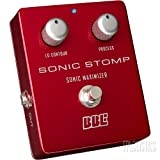 BBE Sonic Stomp Sonic Maximizer Stomp Box Pedal for Guitars, Basses and Keyboards