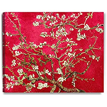 Van Gogh Almond Blossoms A4 size 21x29.7cm QUALITY Canvas Print Poster Unframed