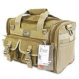 Cheap 15″ Tactical Duffle Military Molle Gear Shoulder Strap Range Bag TF115 TAN