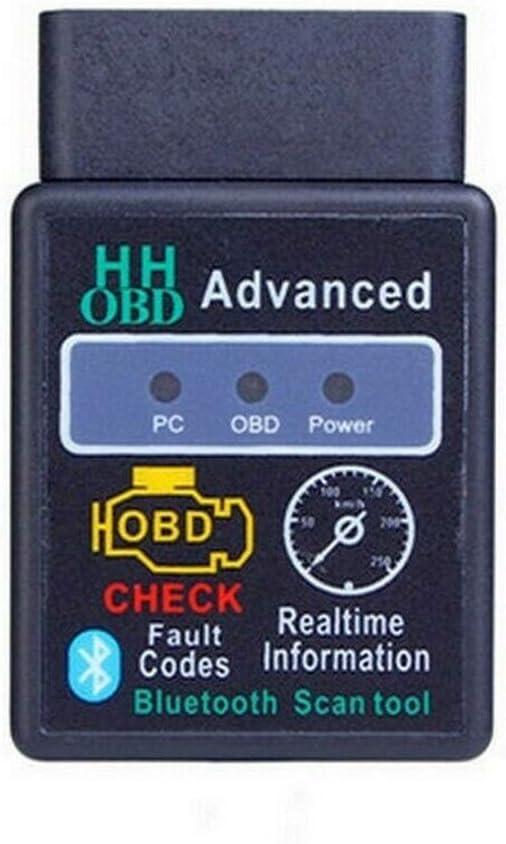 OBDII Scanner Diagnostico Per Auto,Scanner e Lettore Diagnostico per Auto Senza Fili Bluetooth OBD2 OBDII per Dispositivi Android