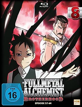 Fullmetal Alchemist: Brotherhood - Volume 8 Digipack im Schuber mit Hochprägung und Glanzfolie Blu-ray Limited Edition Alemania Blu-ray: Amazon.es: -, Yasuhiro Irie, -: Cine y Series TV