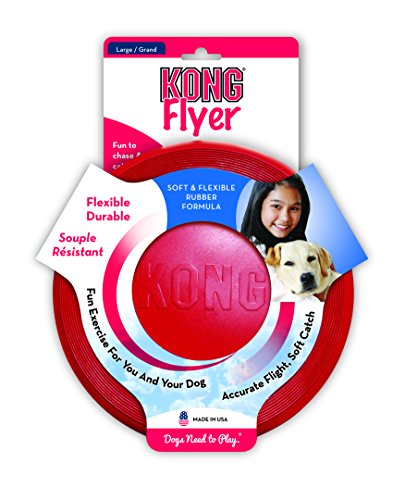 Kong-Rubber-Flyer-Large-Red