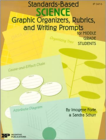 Amazon standards based science graphic organizers rubrics amazon standards based science graphic organizers rubrics and writing prompts for middle grade students standards based graphic organizers rub ccuart Gallery