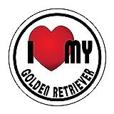 Imagine This Golden Retriever Breed Heart SnapPet