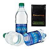 HumanFriendly Dasani Diversion Safe Water Bottle Stash Can w Smell-Proof Bag