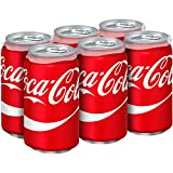 Coca-Cola Soda Soft Drink, 12 fl oz, 6 Pack