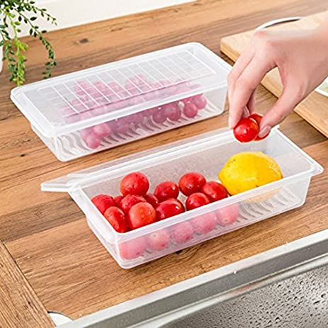 Amazoncom Dealglad Refrigerator Fresh Food Storage Box Sealed