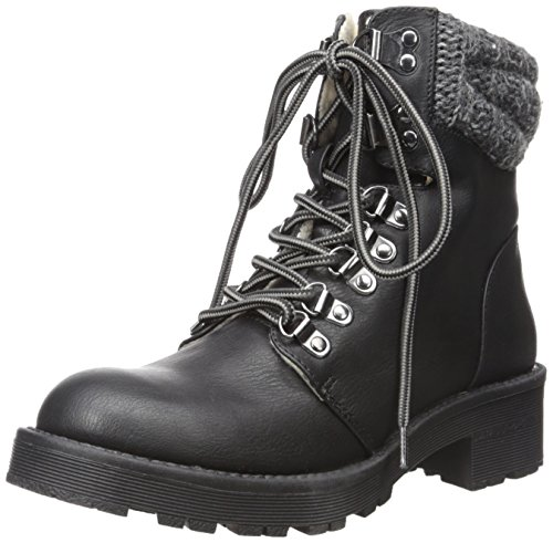MIA Women's Maylynn Winter Boot, Black, 7.5 M US