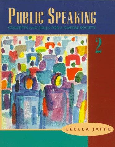 Librarika Student Workbook For Jaffes Public Speaking Concepts