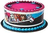 1 X Monster High Designer Prints Edible Cake Image