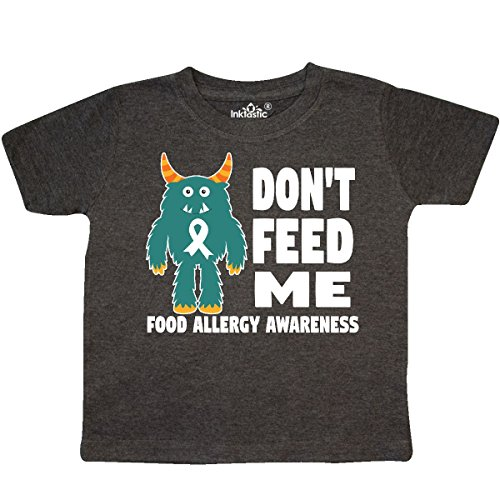 inktastic - Dont Feed Me with Toddler T-Shirt 2T Retro Heather Smoke 29dae