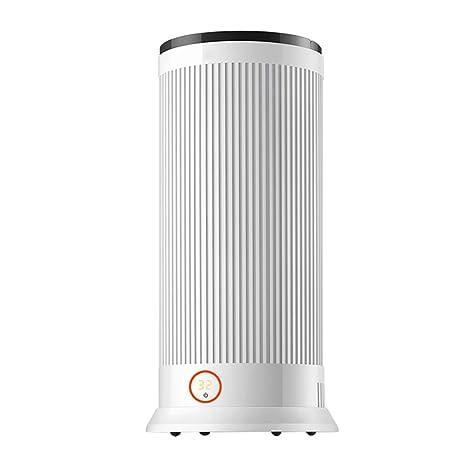 NUBAOgy Calentador Eléctrico, Calentador Portátil, Estufa De Calefacción Móvil, Termostato Y Corte Térmico