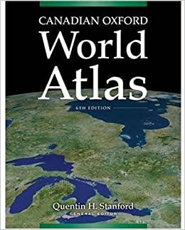 Canadian oxford world atlas quentin h stanford 9780195429299 canadian oxford world atlas gumiabroncs Images