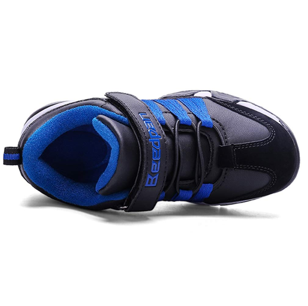 LGXH Breathable Boys Girls Sneakers Outdoor Waterproof Comfy Sport Athletic Strap Walking Running Shoes